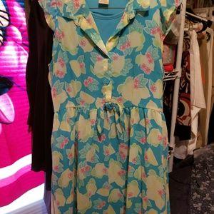 Dresses & Skirts - Girls pretty dress by Faded Glory XL 14/16
